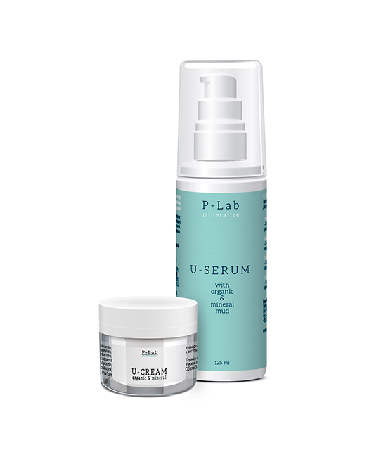 Акция U-Serum P-Lab Mineralize + Подарок U-Cream 125+50 мл.